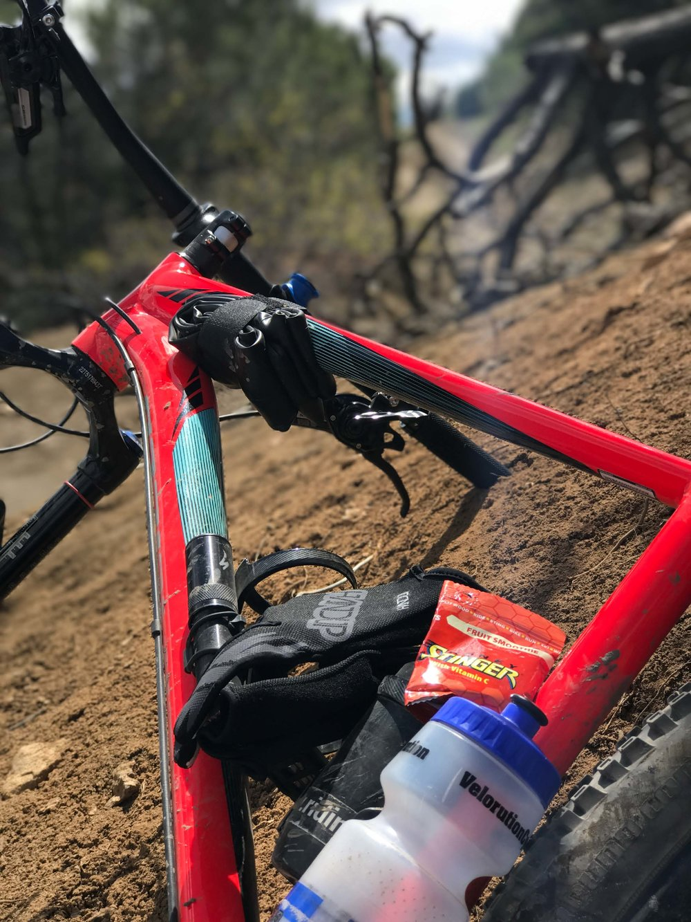 """I speak from experience. I've owned both a hardtail 3.0 """"fattie"""" 650 bike & a V10, and ripped trails extensively on both…"""