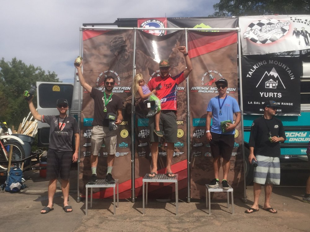 Racer Jon Reed (RN), crushes the Moab installment of the Rocky Mountain Enduro Series!