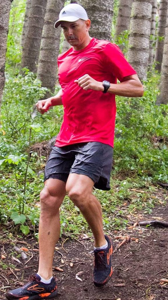 teamEMS trail runner in Hawaii