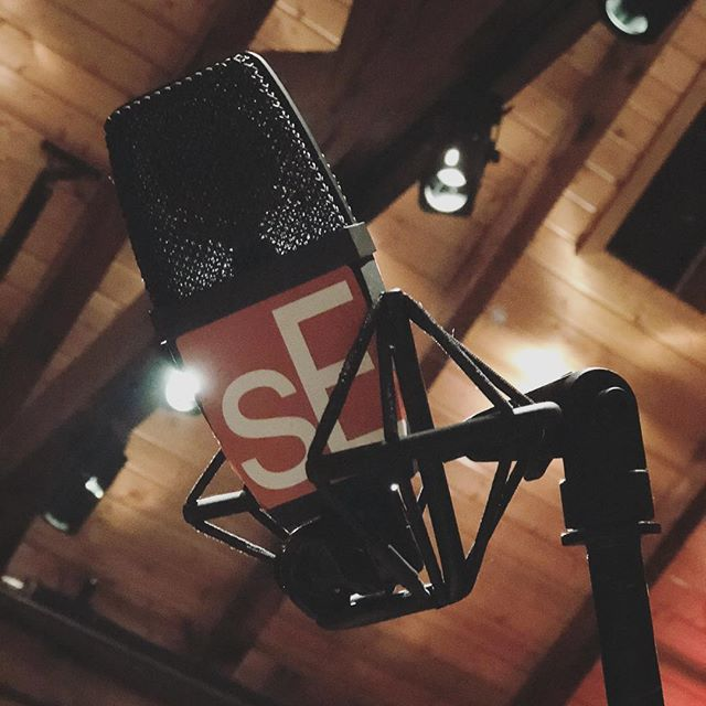 If you think it sounds good now, just wait till I plug it in. . . . . #seelectronics #producer #studio #studiolife #nashville #singer #artist #mic #studioporn