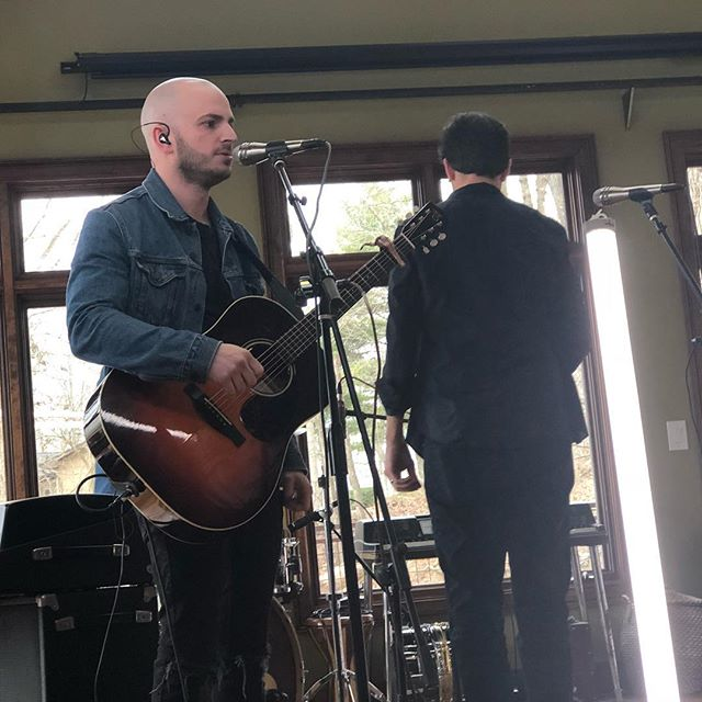 Valentines video shoot w/ @iamtheyband . . . . . #videoshoot #livesession #studioporn #nashville #valentinesday #musician