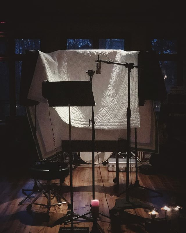 Rainy night vocal sessions. . . . . #vocals #recordingstudio #studioporn #nashville #singersongwriter #studiolife #producerlife #musiciansofinstagram