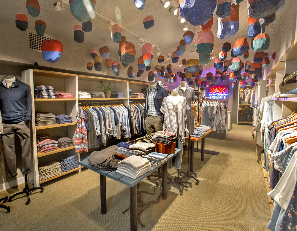 Faherty Brand, Boston Store, Installation