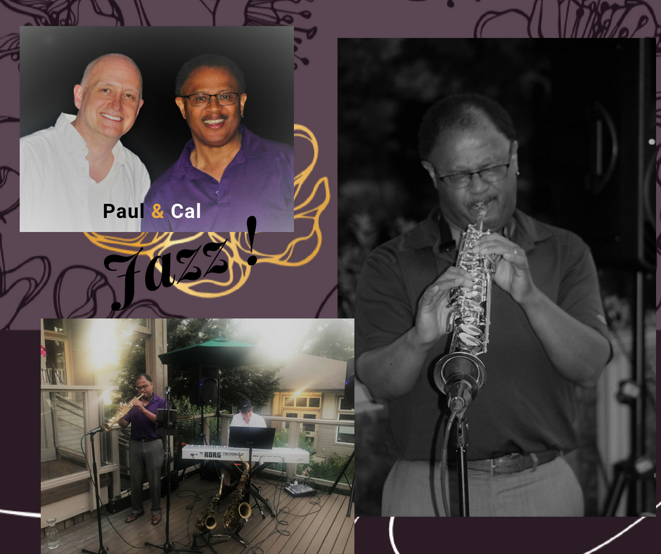 The dynamic duo of Clarence Cal & Paul Goade will perform rich jazz with hints of blues, swing, and timeless classics.  A perfect addition for guests to enjoy smooth jazz during the Gala.