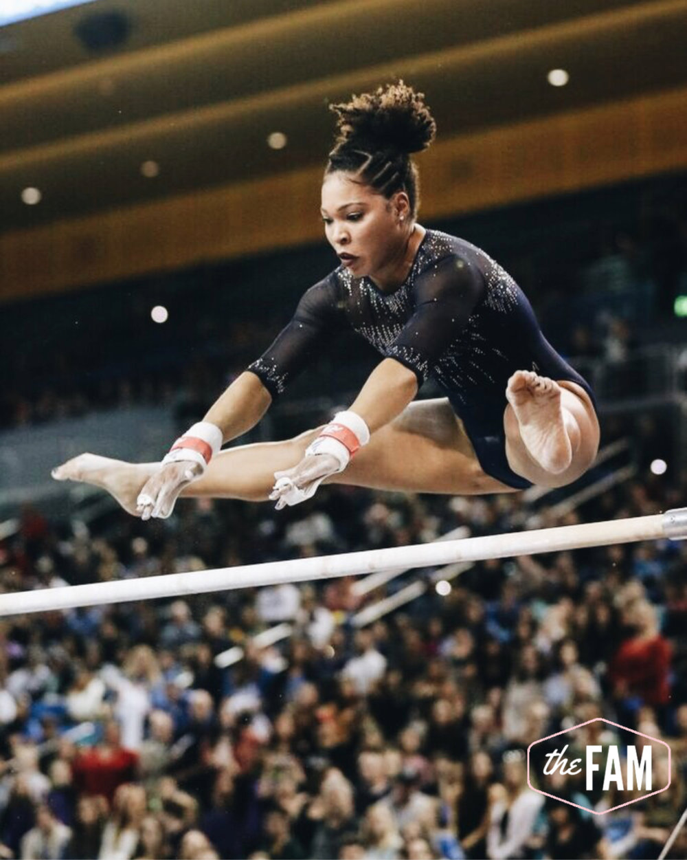 Ep. #8 - UCLA Gymnastics Journey Paved by Faith - with JaNay Honest - JaNay worked her way from being an unassuming recruit, to a walk on at UCLA, to a National CHAMP! Listen to her whole story - trusting God and working incredibly hard.