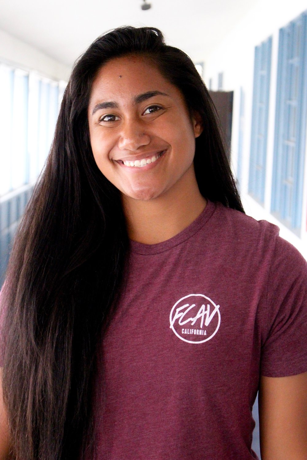 Nani Leui-Saole Nomura - Hey! I'm Nani (pronounced naw-knee), and I kind of played volleyball at Louisiana Tech University from 2015-2017. I was in school studying Psychology and am now pursuing a career in law enforcement, looking forward to spending the next years serving people as my profession and seeking justice for those in need of it. I love reading, I think Forrest Gump is the best movie ever made, and I can juggle pretty well on a good day.