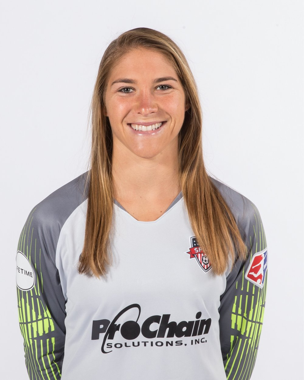 Aubrey Bledsoe - Aubrey is a professional soccer player for the Washington Spirit. In her first year with the team she set a new league record with 108 saves in a season. She began her professional career after graduating from Wake Forest University in 2014 and the past 4 years have taken her to Norway, Denmark, Australia, and three different teams in the U.S. She is passionate about loving her teammates, traveling, baking, and is very close to her family.