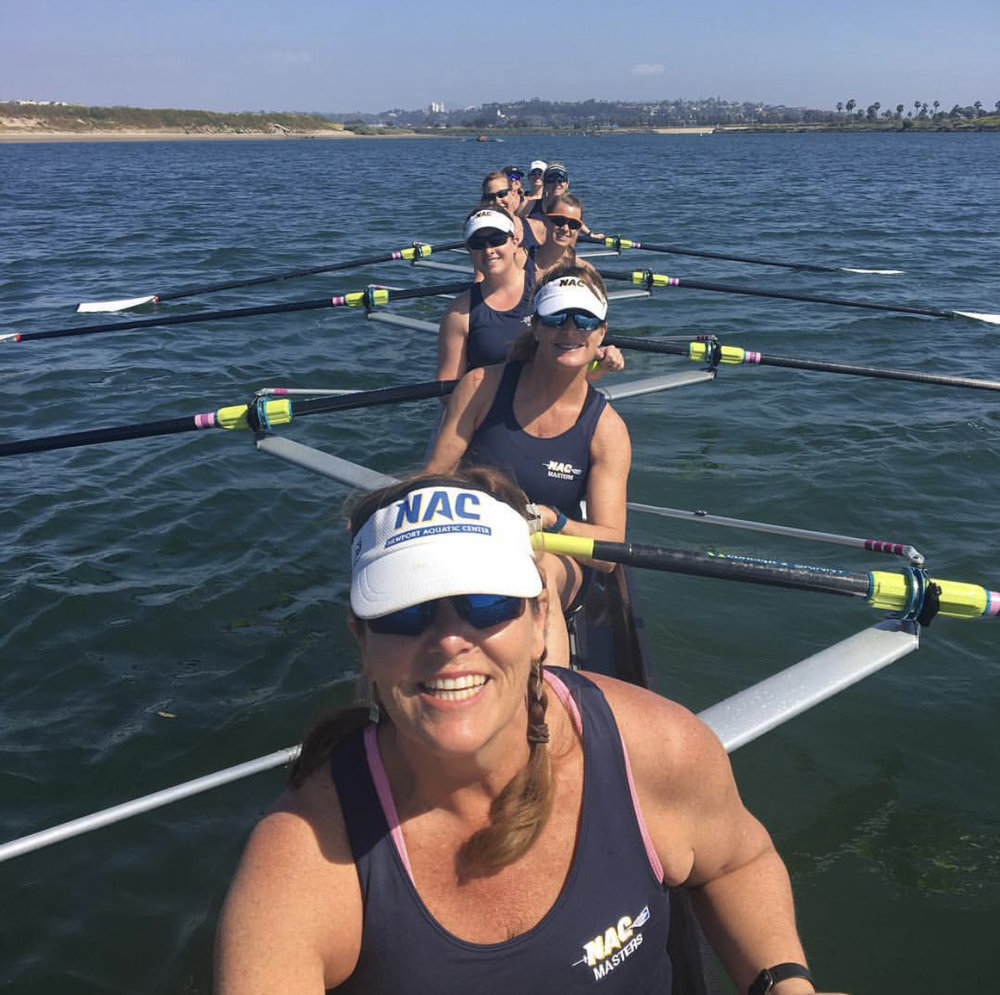 Ep. #26 - You Never Have to be a NARP! - with Master Rower Amy Lawrence - NARP = Non athlete regular person.Amy Lawrence is a Master rower. When her youngest son was 10 years old she decided to get back into the sport she loved in college: she joined a competitive women's rowing team!You are going to be so inspired by Amy and the group of women she rows with. It's never too late to pursue your sport. We joke about becoming a NARP here on the FAM and it feels like a death sentence! But Amy proves us all wrong and shows how you can be an athlete for the rest of your life.Listen on iTunes HERE or SoundCloud HERE.