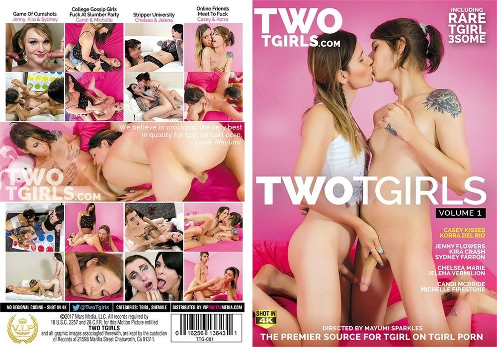 Two Tgirls Vol. 1  Made AVN's Top 50 Overall Specialty Titles - April 2017