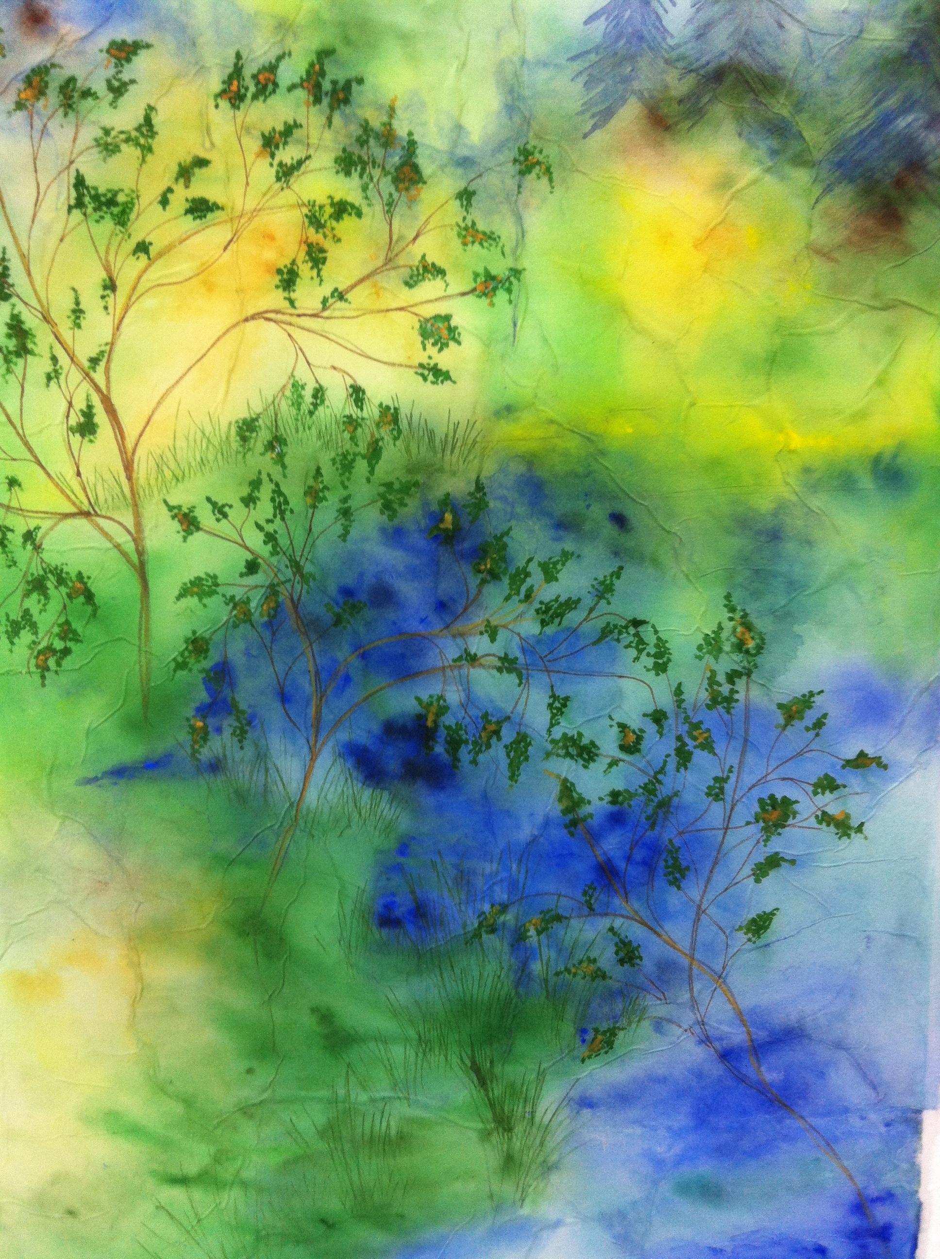 Watercolors — Olwen Dowling Fine Art