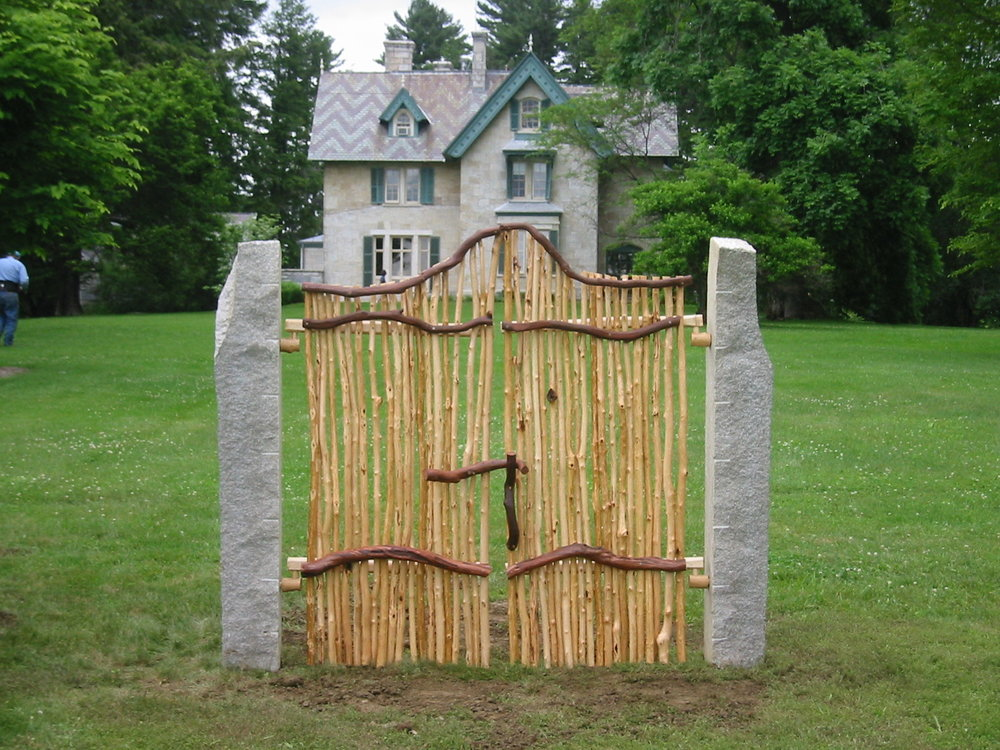 Norman Rockwell Museum, Lenox, Massachusetts, Gate of Reeds and Granite