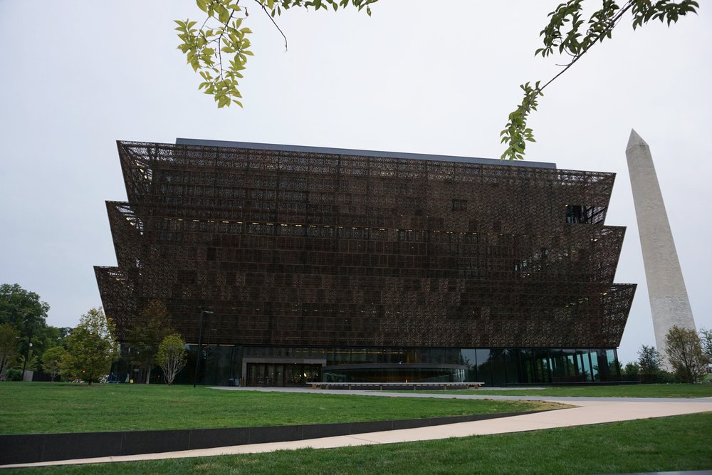 The massive African American museum.