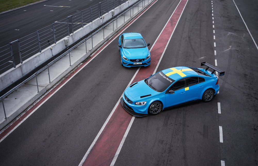 Client: Volvo Polestar / Cyan Racing Project: Press Release WTCC Car