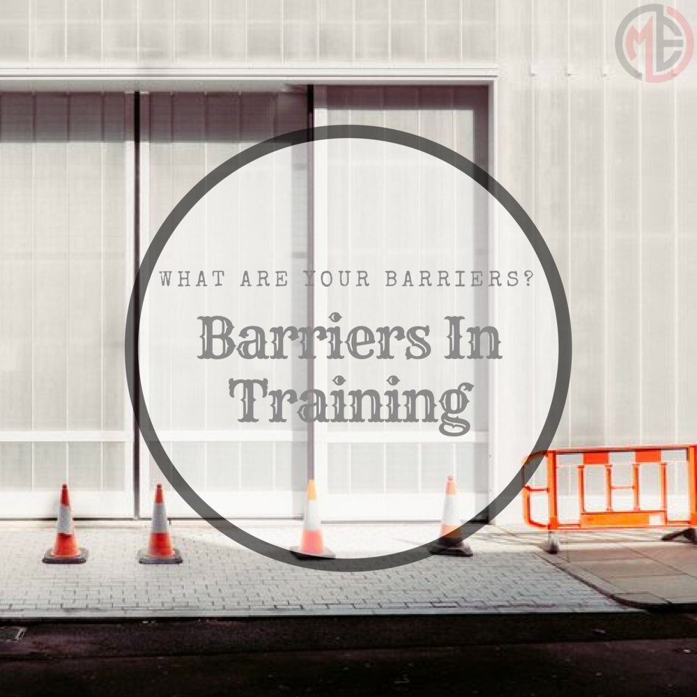 What are your barriers?