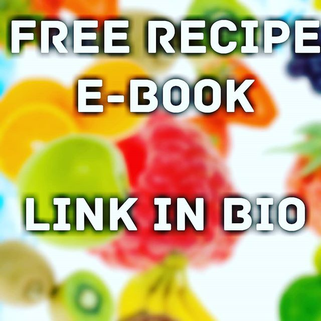 FREE Recipe E-Book 👍👍Link in bio. - - - . #fitnessmotivation #healthyfats #preworkout #foodstagram #protein #fitfood #feedfeed #cleaneating #healthyfood #healthyeating #getinmybelly #healthyrecipe #healthychoices #cleaneatingdiet #healthyliving #fitness #fittrainers #gainmuscle #postworkout #foods4thought #getlean #foodpic #chef #gettinghealthy
