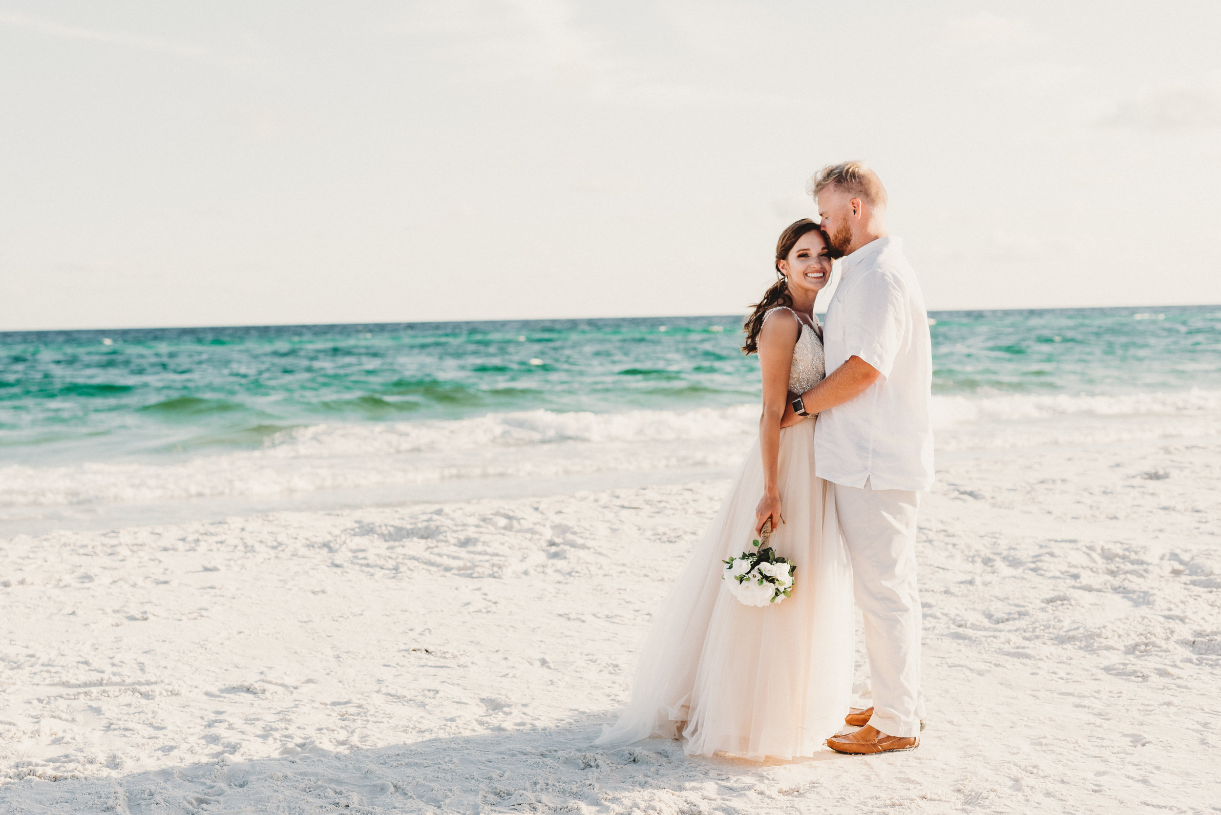 bailee + joe | destin, fl beach wedding — kalli june photo
