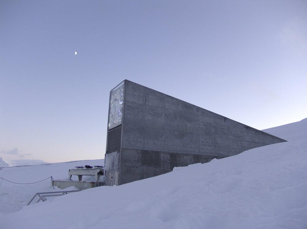 Mari Tefre/Svalbard Globale frøhvelv.
