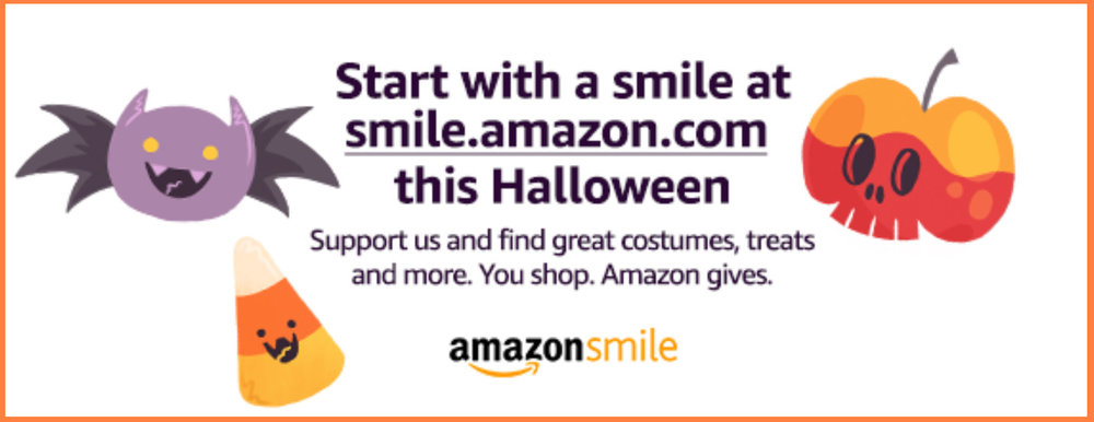 MPS Army is on Amazon Smile: Find your Halloween treats through the link below and Amazon will donate 0.5% to MPS Army!
