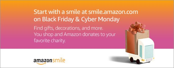MPS Army is on Amazon Smile: Use Amazon Smile for your Black Friday and Cyber Monday shopping and Amazon will donate 0.5% to MPS Army!
