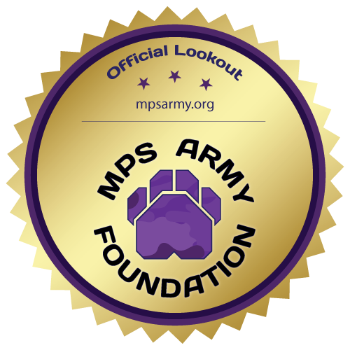 Official MPS Army Lookouts Badge