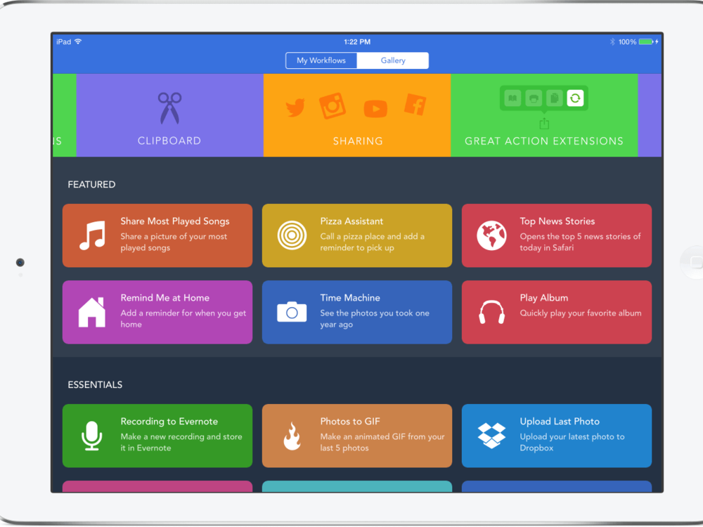 Workflow - Automation app for your devices