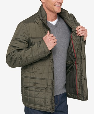 Men's Four-Pocket Quilted Jacket - $79