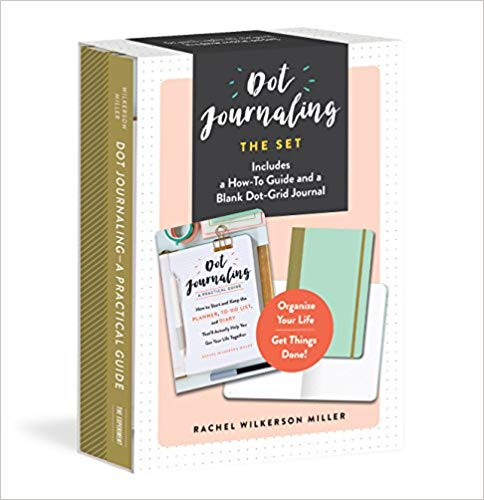 DOT JOURNALING―THE SET: INCLUDES A HOW-TO GUIDE AND A BLANK DOT-GRID JOURNAL - $15.60