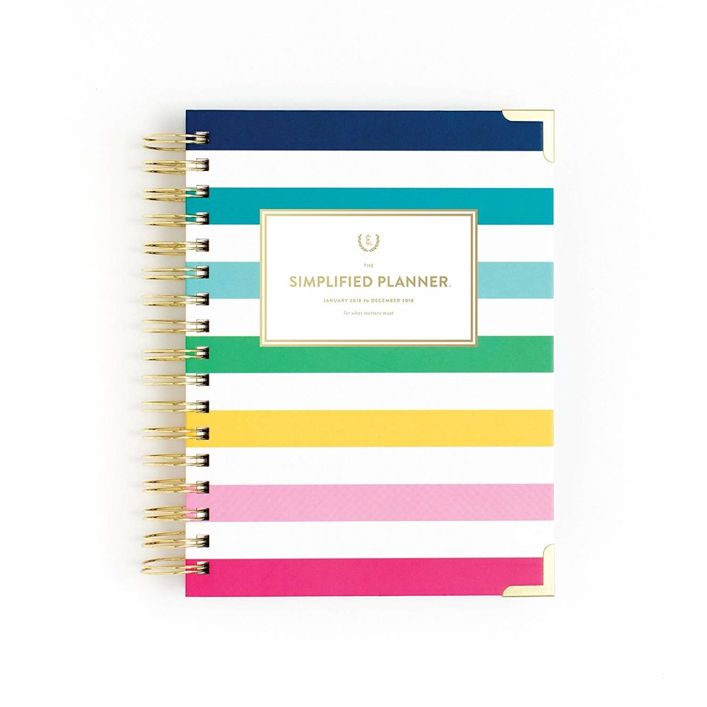 SIMPLIFIED PLANNER BY EMILY LEY - $48