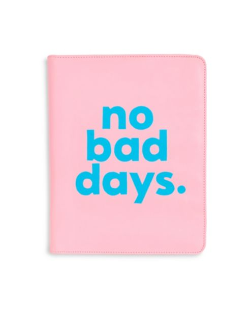 BAN.DO NO BAD DAYS GET IT TOGETHER FAUX LEATHER FOLIO - $45
