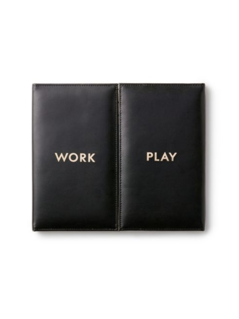 KATE SPADE NEW YORK WORK PLAY DESKTOP WEEKLY CALENDAR AND FOLIO - $32