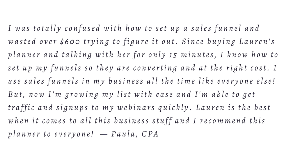 Customer Testimonial - imLaurenAc