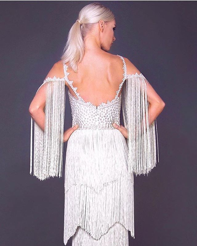 It's my party and I'll wear fringe if I want to #bridevibes #itsmyparty . . . Via @modaoperandi