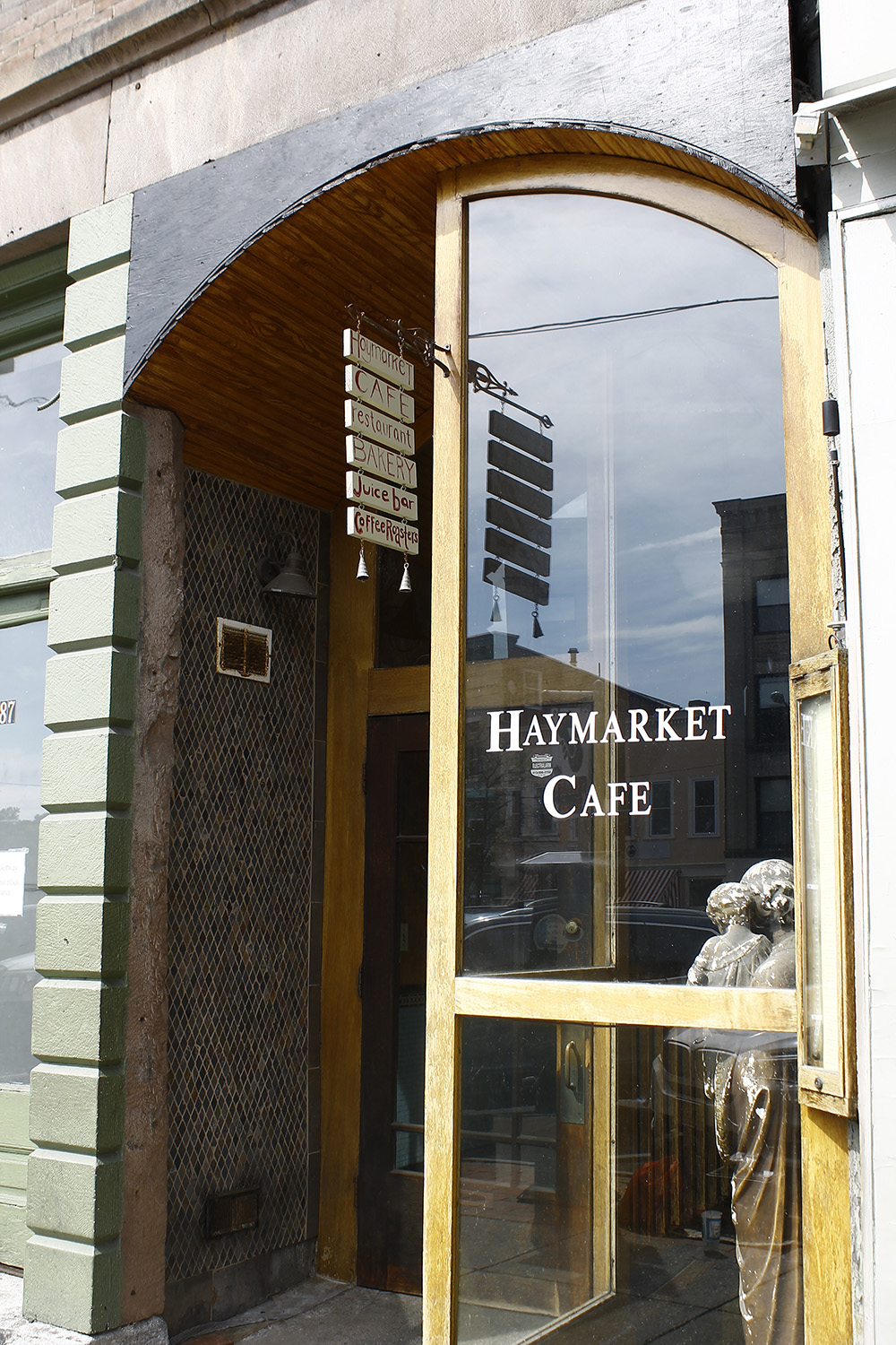 Photo by Jen Zhu '16 Haymarket Café is increasing its starting wage and encouraging other cafés to do the same.