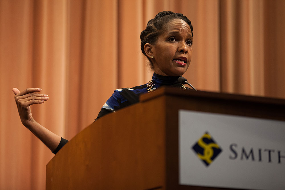 Photo by Carolyn Brown '16 | Imani Perry discussed feminism's role in future society.