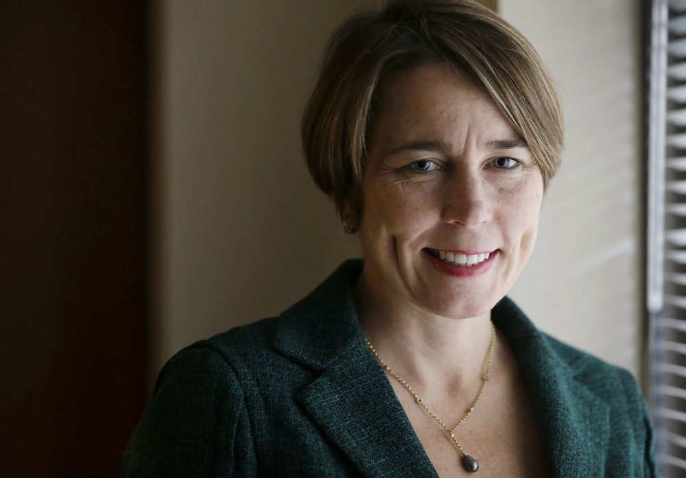 Photo Courtesy of WBUR.ORG |  Mass. Attorney General Maura Healey told students to focus on the everyday actions they can take.