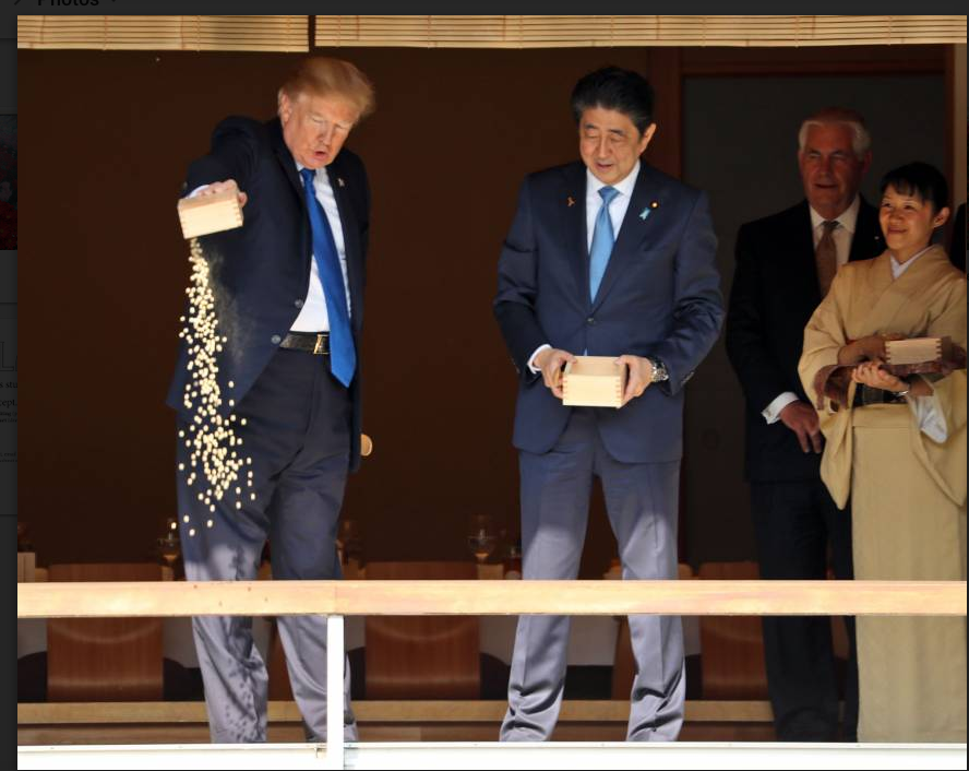 Photo courtesy of ap.org || President Trump's visit to Asia has been just about what pundits expected and so much more, Briana Brady '21 writes.