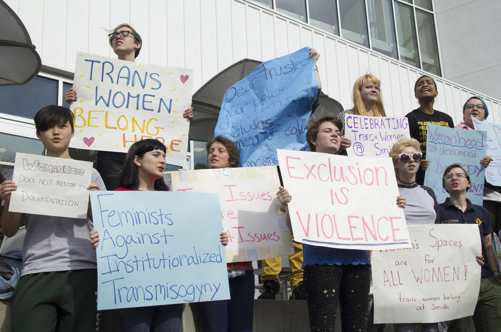 Photo courtesy of Carolyn Brown '16 || Smith College has not truly supported transwomen beyond the application process, Hunter R. Myers '18 writes.