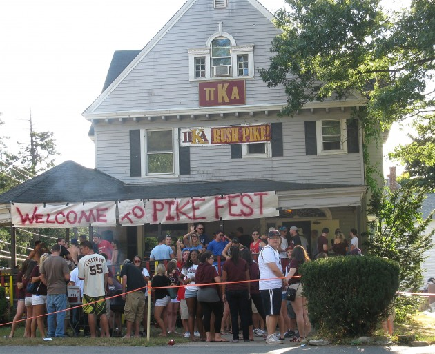 Photo courtesy of wbur.org    Greek life adds little to campus life besides danger, Emily Kowalik '18 writes. Perhaps it's time to get rid of it entirely.