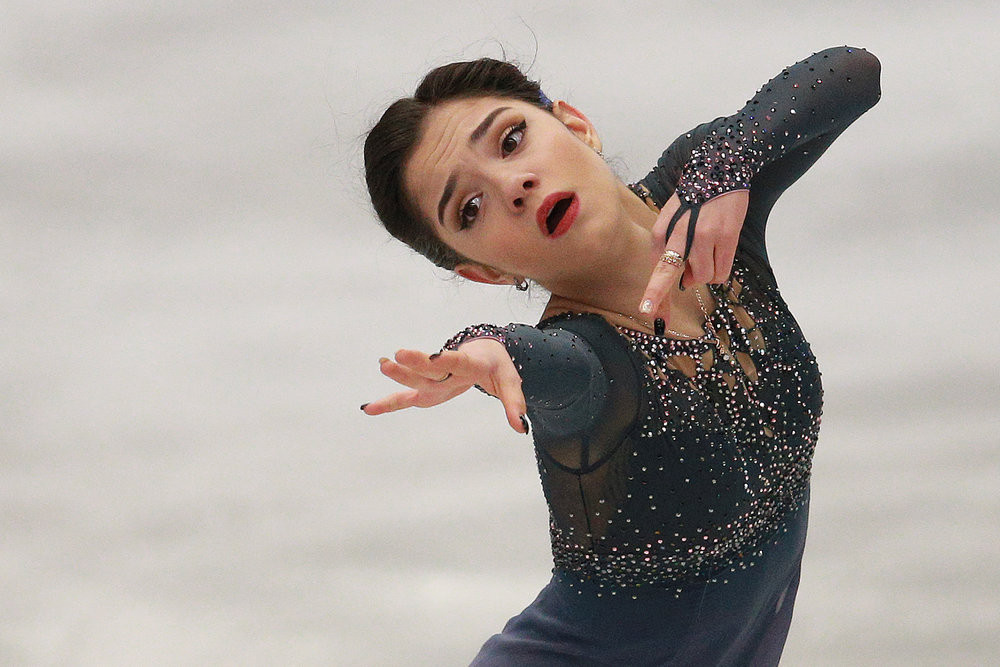Photo Courtesy of ostrava2017.eu ||Jenny Ly '18 writes that Evgenia Medvedeva, left above, is a must-see this Winter Olympics.