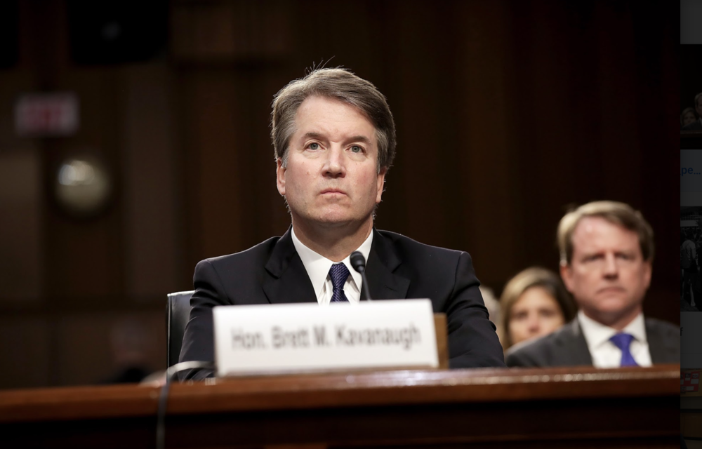 PHOTO COURTESY OF PEOPLE.COM  An overview of Supreme Court nominee Brett Kavanaugh's legal qualifications and history.