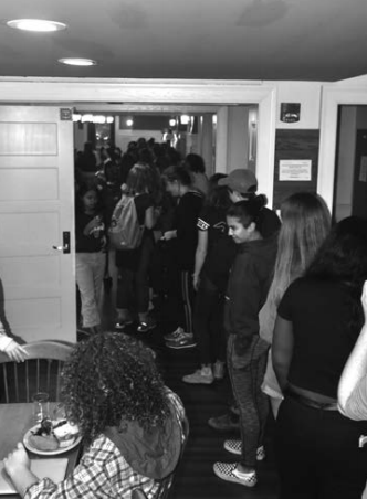 PHOTO BY SARAH YAMASHITA '22 | ASSISTANT PHOTO EDITOR  At meals, Northrop-Gillett is always working at overcapacity, something has change.