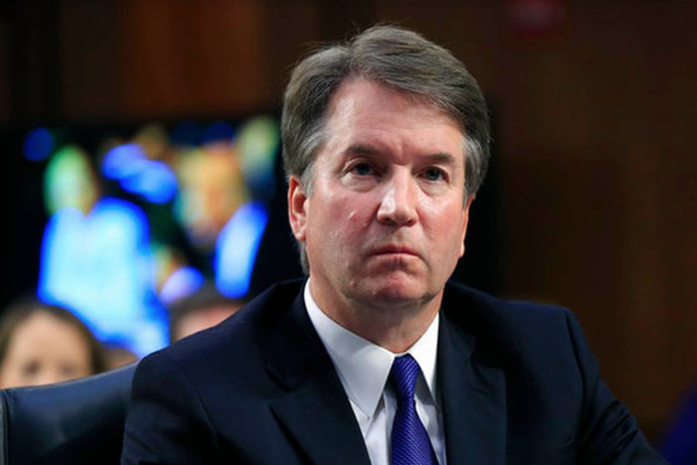 PHOTO COURTESY OF MAINEPUBLIC.ORG  Kavanaugh's passionate denial of the sexual assault allegations casts doubt on his ability to serve on the Supreme Court.