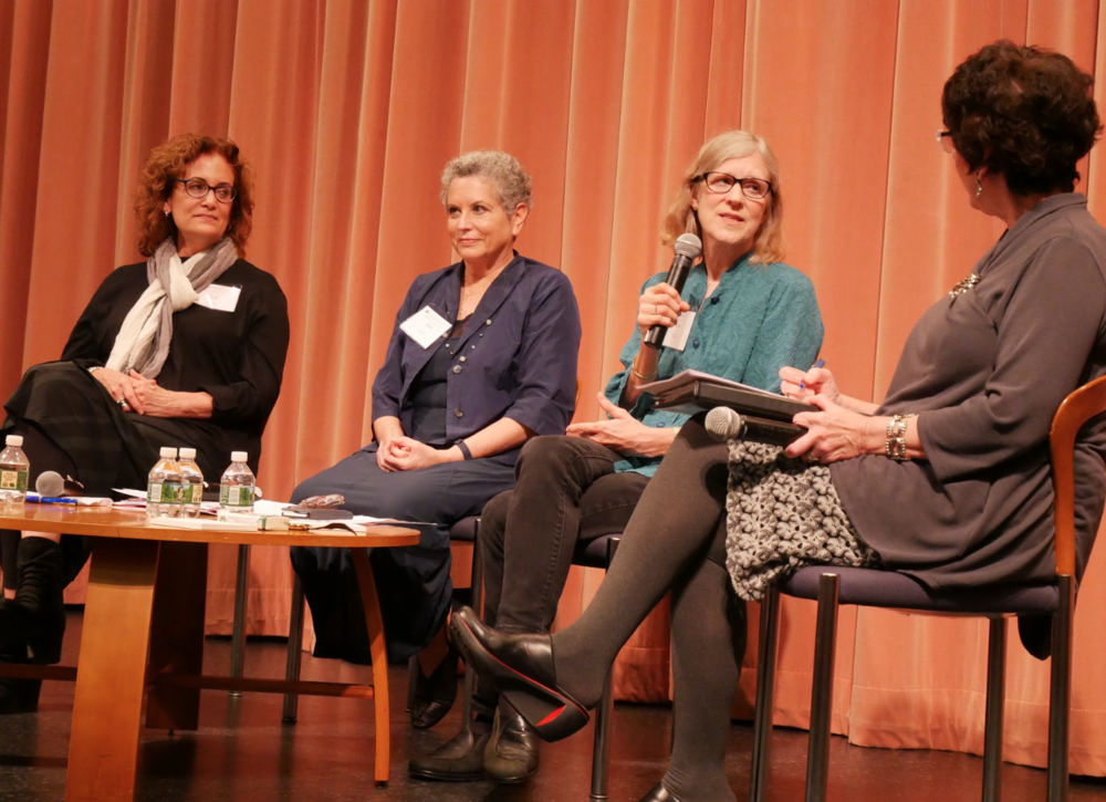 PHOTO BY KELLY PIEN '20 | PHOTO EDITOR  Ann Martin '77 pushed boundaries in her picture books, incorporating real-world issues ranging from mental illness to divorce and death in her writing.