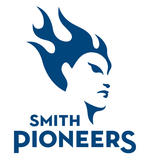 IMAGE COURTESY OF SMITH COLLEGE  Smith College's logo for the Pioneers.