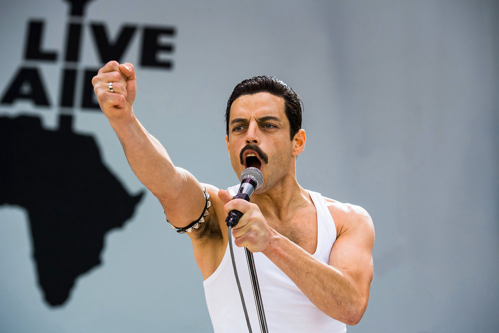 """PHOTO COURTESY OF EW.COM  """"Bohemian Rhapsody"""" is a mixed bag of successes and weaknesses."""