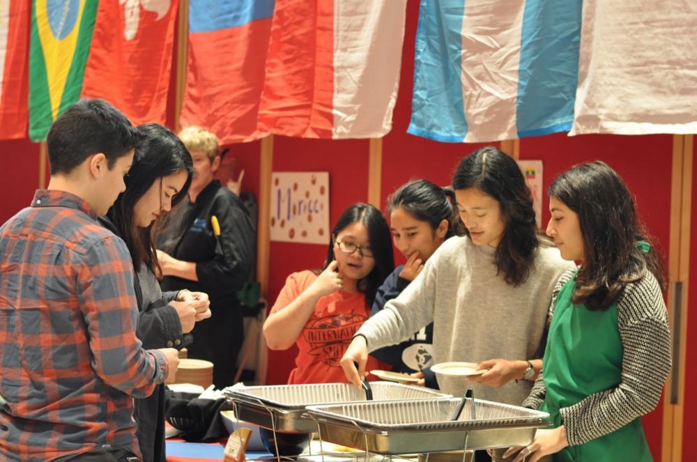 PHOTO BY SARAH YAMASHITA '22 | ASSISTANT PHOTO EDITOR  The I.S. Day Celebration offered a variety of dishes from Smith's international students.