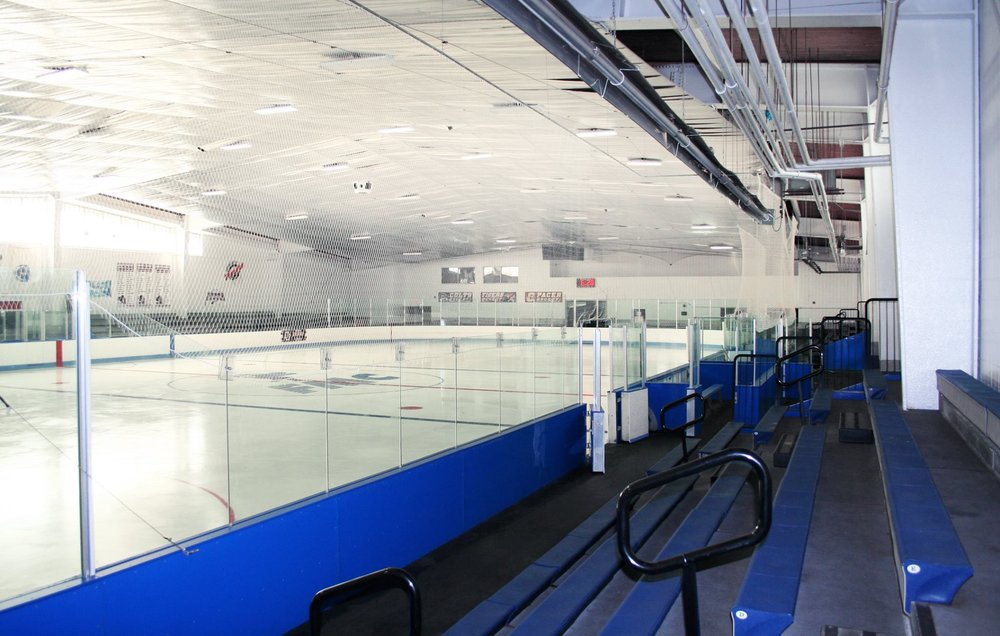 PHOTO COURTESY OF FITZPATRICK ARENA  Madeline Hubbard '19 reflects on wins and losses for the college ice hockey team.