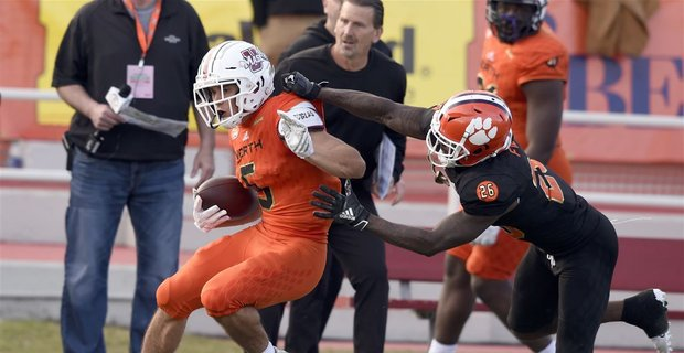 PHOTO COURTESY OF USA TODAY SPORTS  Players hope to show off their skills in the Senior Bowl before the NFL draft in April.