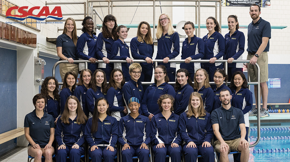 PHOTO COURTESY OF SMITHPIONEERS.COM  Smith's swimming and diving team gave it their all at the Seven Sisters Championship.