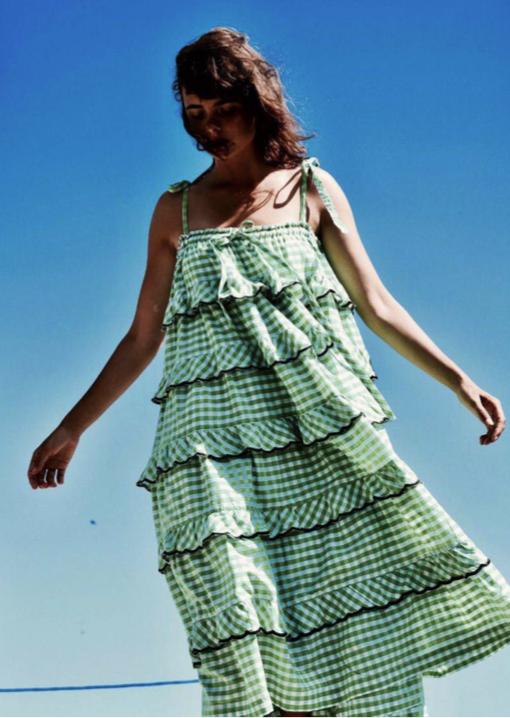 INK MT-LFD-01-GG LAYERED FRILL DRESS GREEN GINGHAM.png